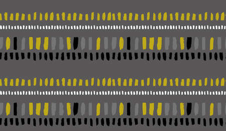 monochrome gray seamless pattern for unisex clothing textile 向量圖像