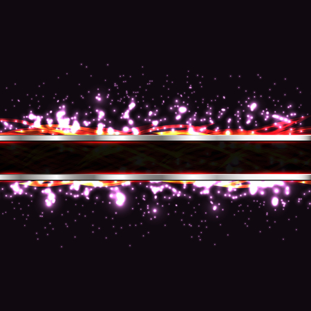 glow in the dark: glowing neon lines. cosmic glow lines on a dark background