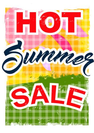 abatement: big summer sale.  background sale. special offer. background in grunge style. Illustration