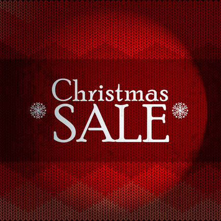 christmas sale. text on a Christmas background