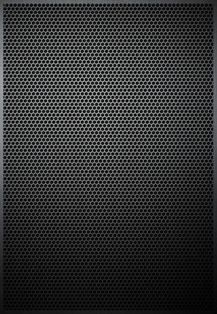 meshed: Hexagonal Metal texture mesh pattern background