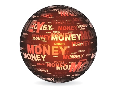 money ball Stock Vector - 10043551