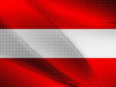 austrian: austrian flag Illustration