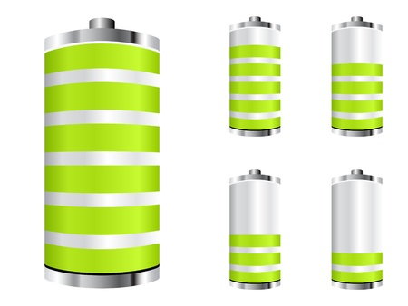 battery icons Stock Vector - 10043588