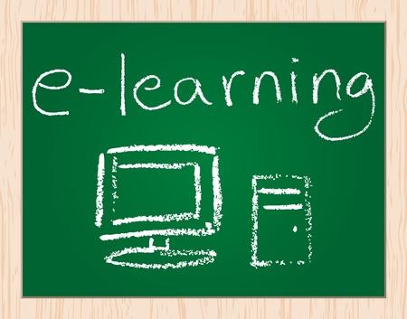 e-learning Stock Vector - 10043579