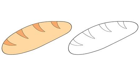 cartoon bread Stock Vector - 10287299