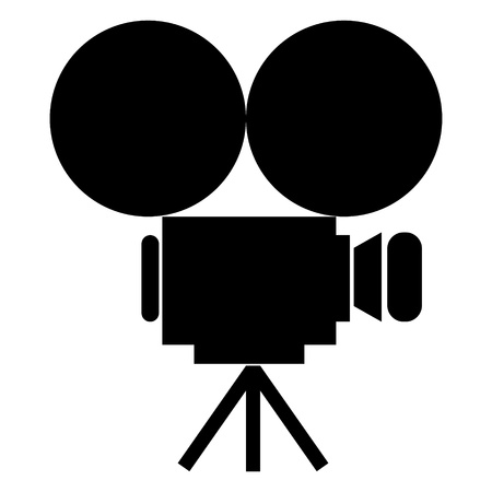 camcorder: movie camera icon