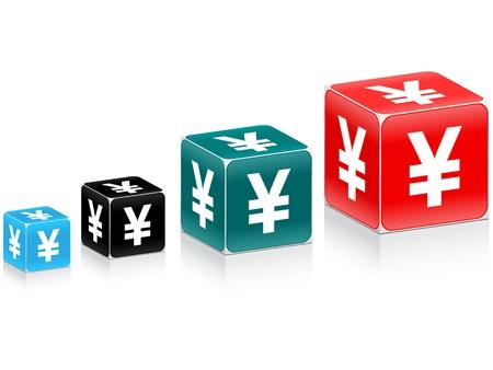 yuan: evolution of yuan Illustration