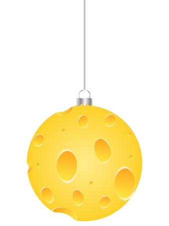 parmesan: christmas globe