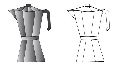 percolator: italian coffee machine