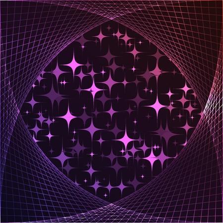 estrellas moradas: estrellas p�rpuras Vectores