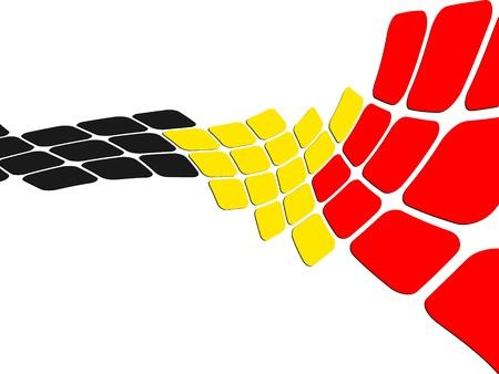 België vlag ontwerpen
