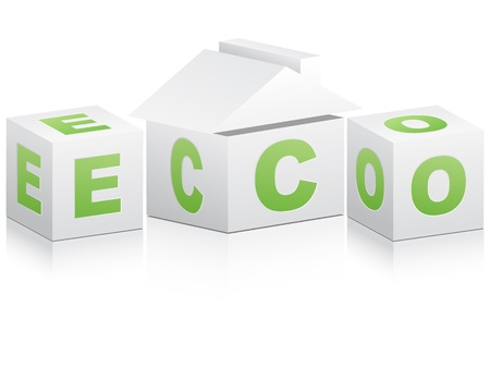 ecological house Stock Vector - 10288062