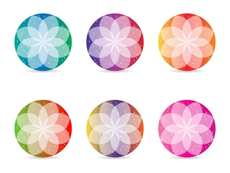 abstract flower design Stock Vector - 10288772