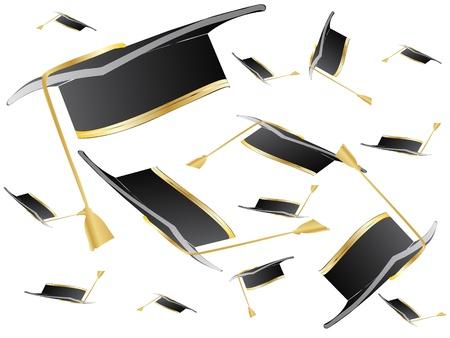 graduation cover Stock Vector - 10288066
