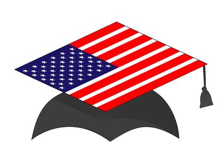 american graduation Stock Vector - 10287842