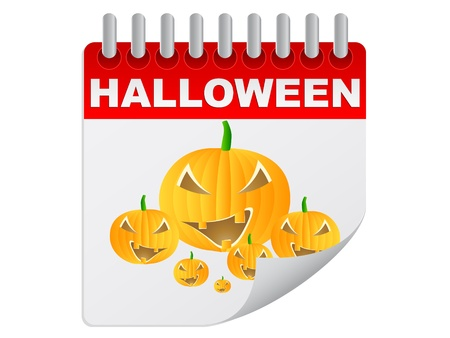 date night: halloween day  Illustration