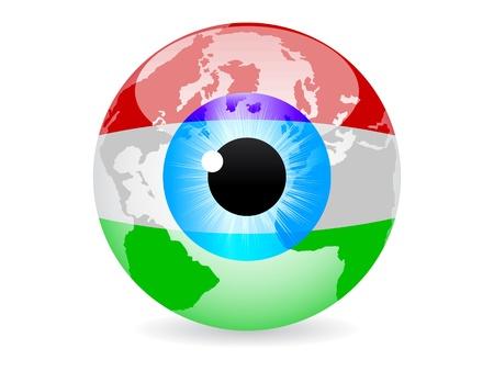 eye of hungary Vector