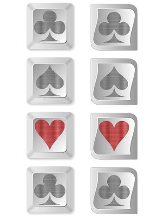 hold em: poker buttons