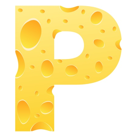 parmigiano: lettera p