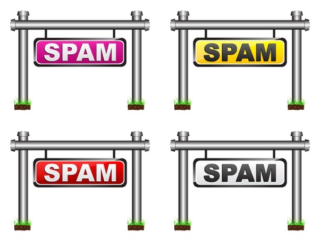 spam: spam banner