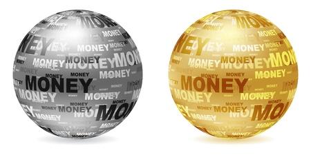 silver balls: golden and silver balls