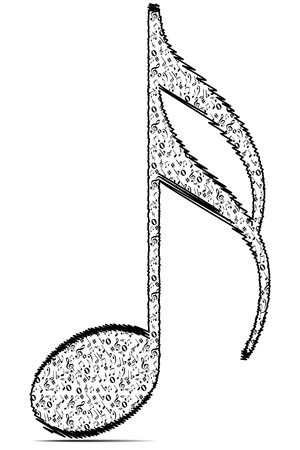 music theory: musical note