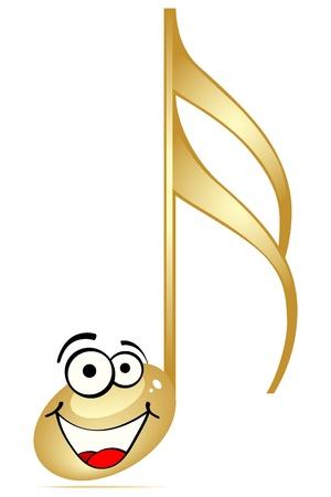 botones musica: Nota musical