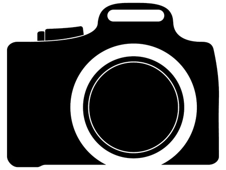 macchina fotografica: icona della fotocamera foto