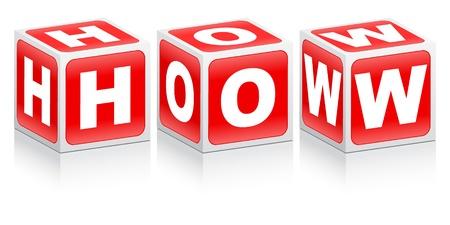 whose: come parola fatta di scatole rosse
