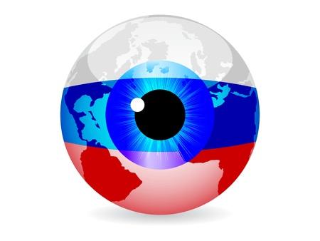 eye of russia Vector