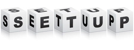 reconditioning: setup word Illustration