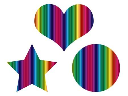 sentiment: colorful shape