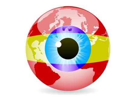 eye of spain Vector