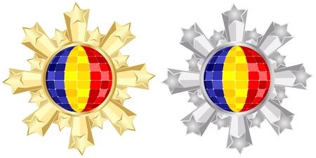 romania: romania flag banner