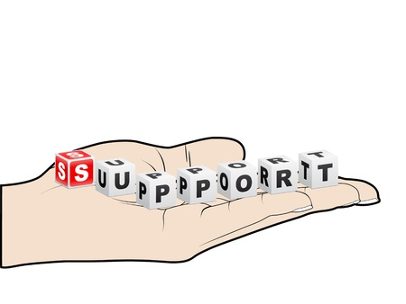supprot Stock Vector - 10288290