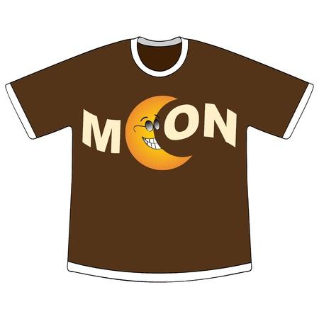 clothes cartoon: t-shirt design Illustration