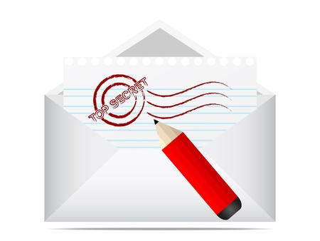 a round of inspection: top secret letter