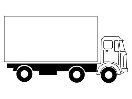 truck Stock Vector - 10287701