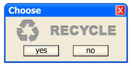unchecked: choose recycle