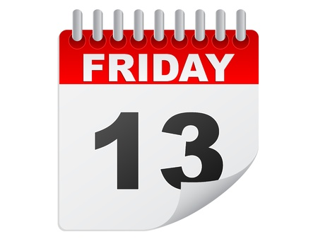 13th: Friday the 13th calendar