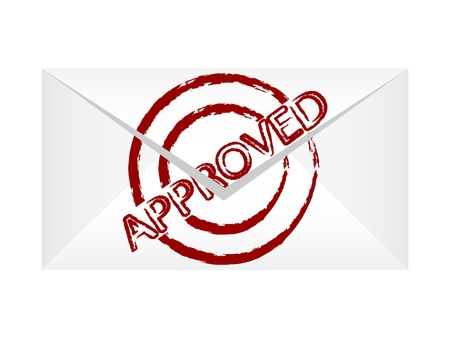 accomplish: approved letter