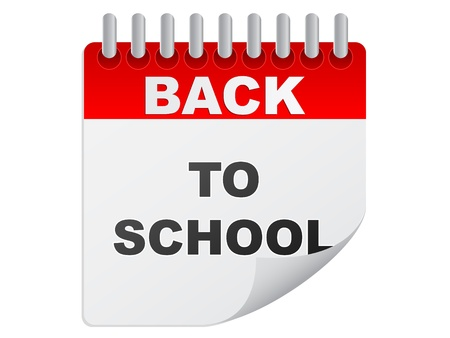 back to school date Stock Vector - 10450790