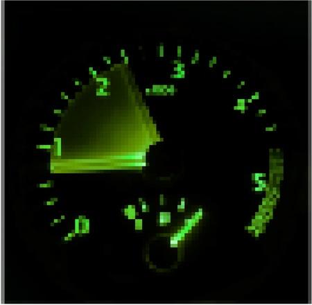 tacometro: Tachometer - revving