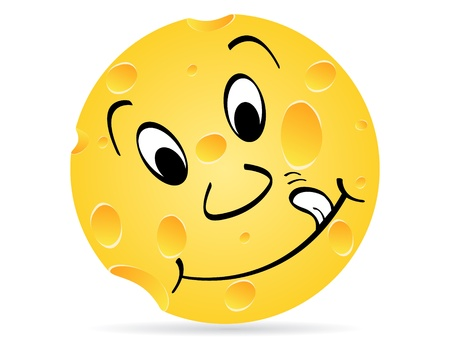 piece of cheese Stock Vector - 10450604