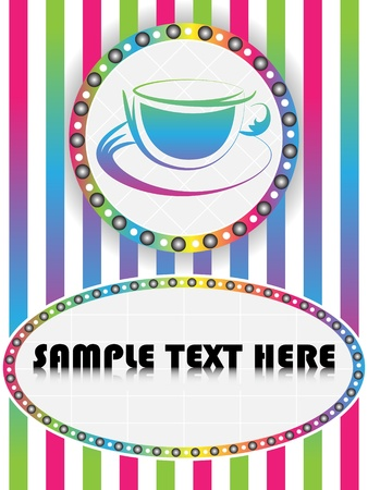 coffee frame Stock Vector - 10450985