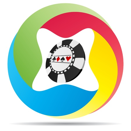 casino banner  Stock Vector - 10450499