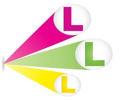 letter l Stock Vector - 10450594