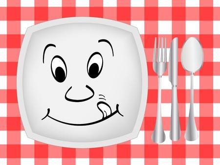 dinner setting: Cena de ajuste