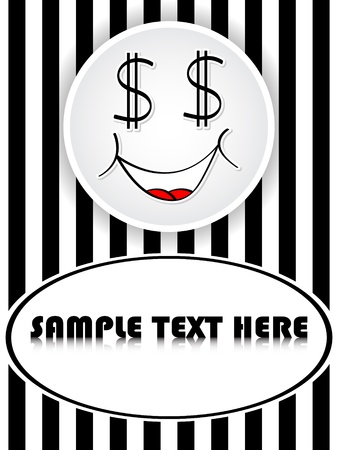 dollar frame Stock Vector - 10450884